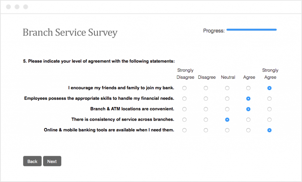 Bank Survey